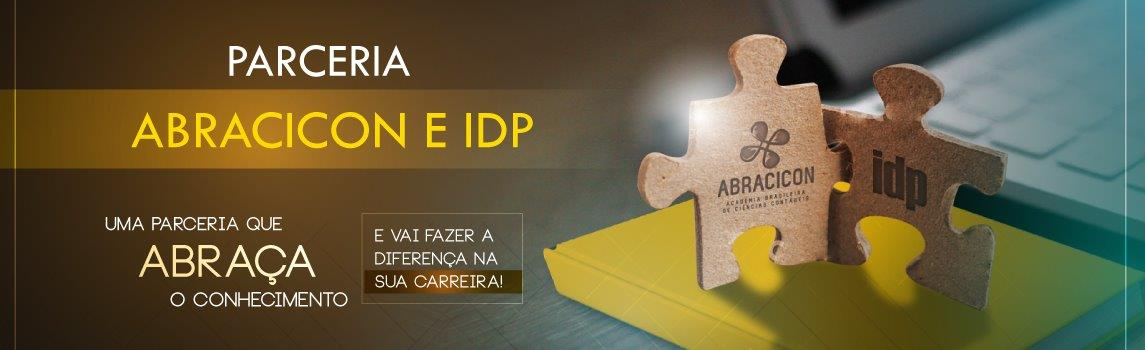 Banner parceria Abracicon e IDP