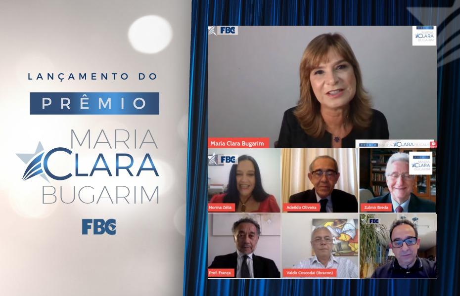 Lançamento do Prêmio Maria Clara Bugarim de produção intelectual reuniu líderes da Classe Contábil brasileira em clima de homenagens